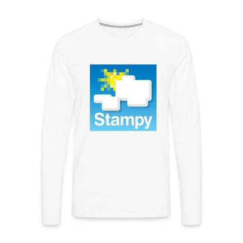 Stampy Logo - Child's T-shirt - Men's Premium Longsleeve Shirt