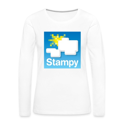Stampy Logo - Child's T-shirt - Women's Premium Longsleeve Shirt