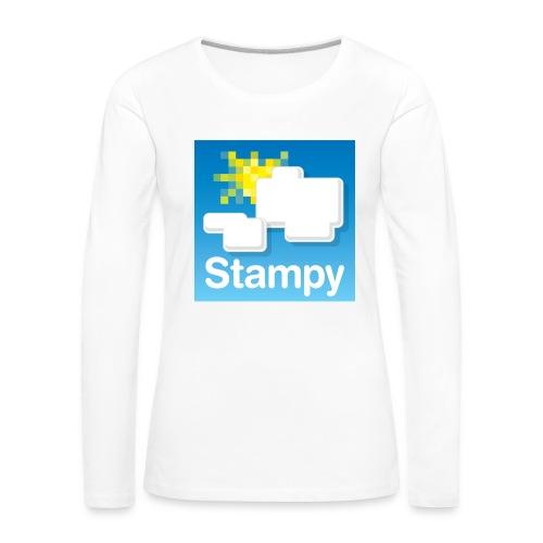 Stampy Logo - Child's T-shirt - Women's Premium Longsleeve Shirt
