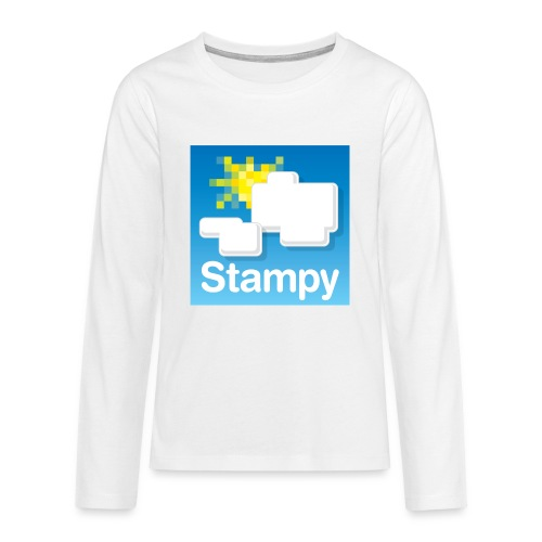 Stampy Logo - Child's T-shirt - Teenagers' Premium Longsleeve Shirt