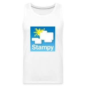 Stampy Logo - Child's T-shirt - Men's Premium Tank Top