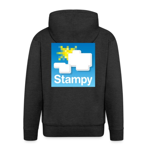 Stampy Logo - Child's T-shirt - Men's Premium Hooded Jacket