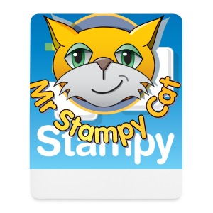Mr. Stampy Cat - Badges  - Mouse Pad (vertical)