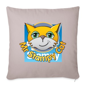 Mr. Stampy Cat - Badges  - Sofa pillow cover 44 x 44 cm