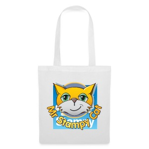 Mr. Stampy Cat - Badges  - Tote Bag
