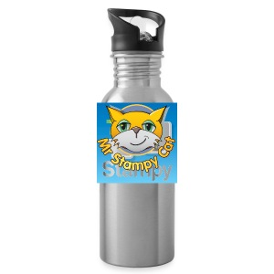Mr. Stampy Cat - Badges  - Water Bottle
