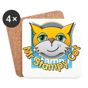 Mr. Stampy Cat - Badges  - Coasters (set of 4)