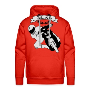A.C.A.B. Scooter Tuning is not a Crime Vol. II HQ FLEX - Männer Premium Hoodie