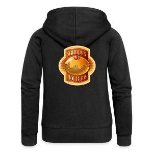 Stampy's Hot Buns - Woman's T-shirt  - Women's Premium Hooded Jacket
