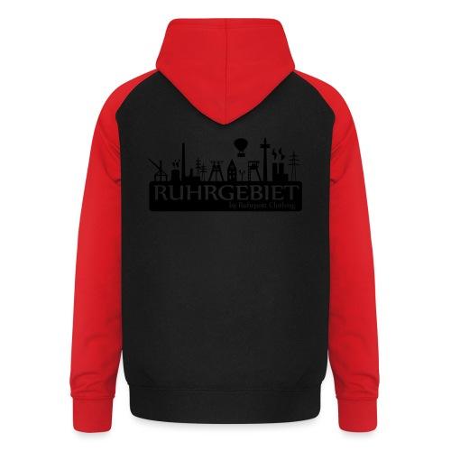 Skyline Ruhrgebiet by RPC - T-Shirt - Unisex Baseball Hoodie