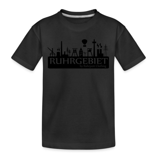 Skyline Ruhrgebiet by RPC - T-Shirt - Teenager Premium Bio T-Shirt