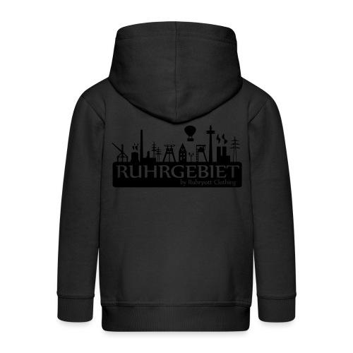 Skyline Ruhrgebiet by RPC - T-Shirt - Kinder Premium Kapuzenjacke