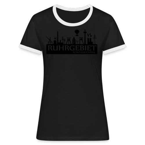 Skyline Ruhrgebiet by RPC - T-Shirt - Frauen Kontrast-T-Shirt