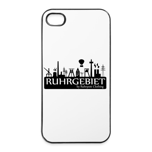 Skyline Ruhrgebiet by RPC - T-Shirt - iPhone 4/4s Hard Case