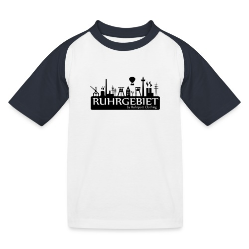 Skyline Ruhrgebiet by RPC - T-Shirt - Kinder Baseball T-Shirt
