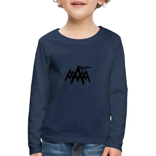 Alpen - Kinder Premium Langarmshirt