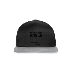 NEW! What else? - Casquette snapback