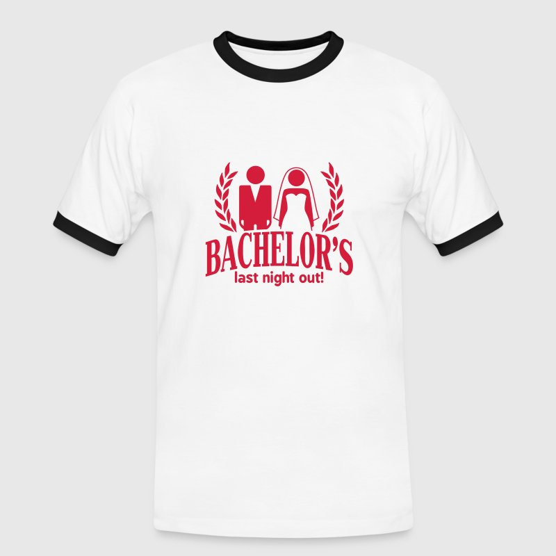 bachelor's last night out Tee shirts - T-shirt contraste Homme