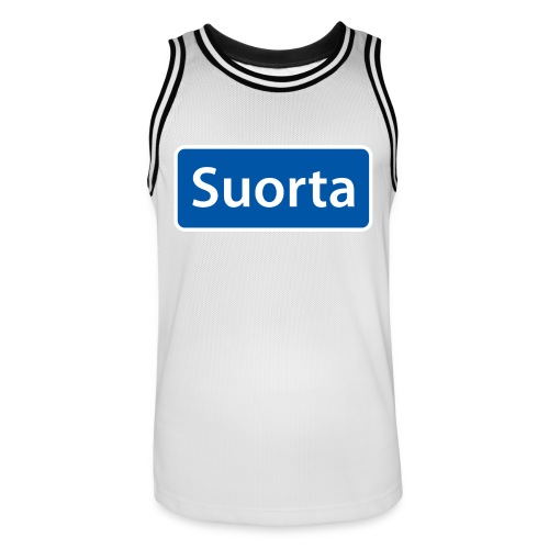 Suorta (Sortland) skilt - Basketballdrakt for menn