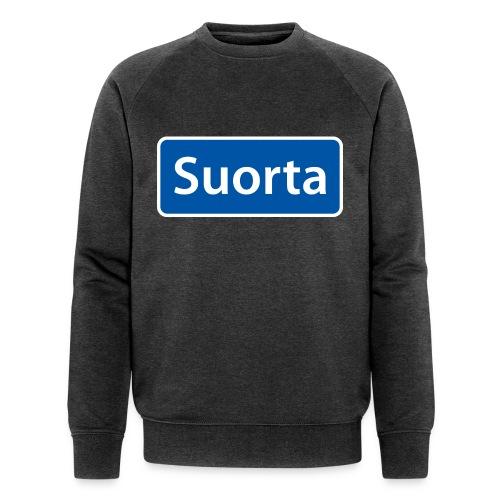 Suorta (Sortland) skilt - Økologisk sweatshirt for menn fra Stanley & Stella