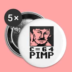 C64 Pimp Tony - Buttons small 25 mm