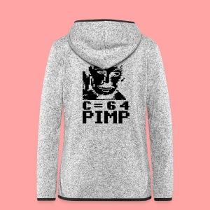 C64 Pimp Tony - Women's Hooded Fleece Jacket