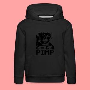 C64 Pimp Tony - Kids' Premium Hoodie