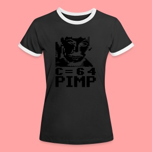 C64 Pimp Tony - Women's Ringer T-Shirt