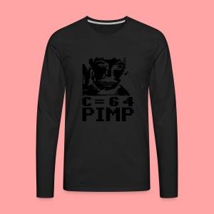 C64 Pimp Tony - Men's Premium Longsleeve Shirt
