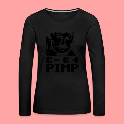 C64 Pimp Tony - Women's Premium Longsleeve Shirt