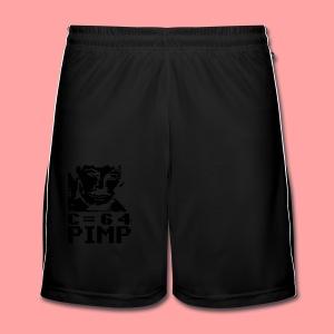 C64 Pimp Tony - Men's Football shorts
