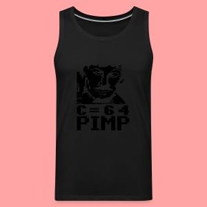C64 Pimp Tony - Men's Premium Tank Top