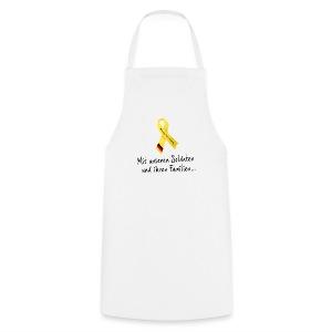 Bioshirt hinten Gelbe Schleife - Kochschürze
