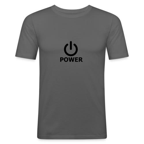 Power-Shirt - Männer Slim Fit T-Shirt