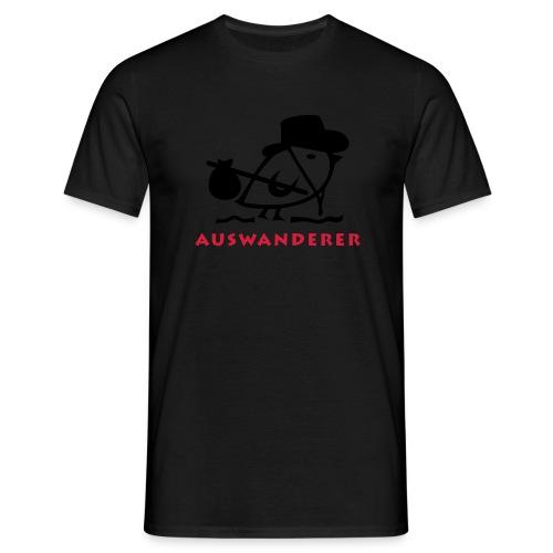 TWEETLERCOOLS - Auswanderer - Männer T-Shirt