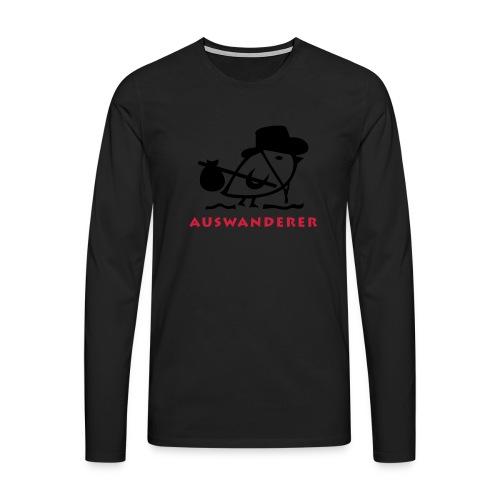 TWEETLERCOOLS - Auswanderer - Männer Premium Langarmshirt