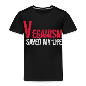 Veganism saved my life MEN/BIO - Kinder Premium T-Shirt