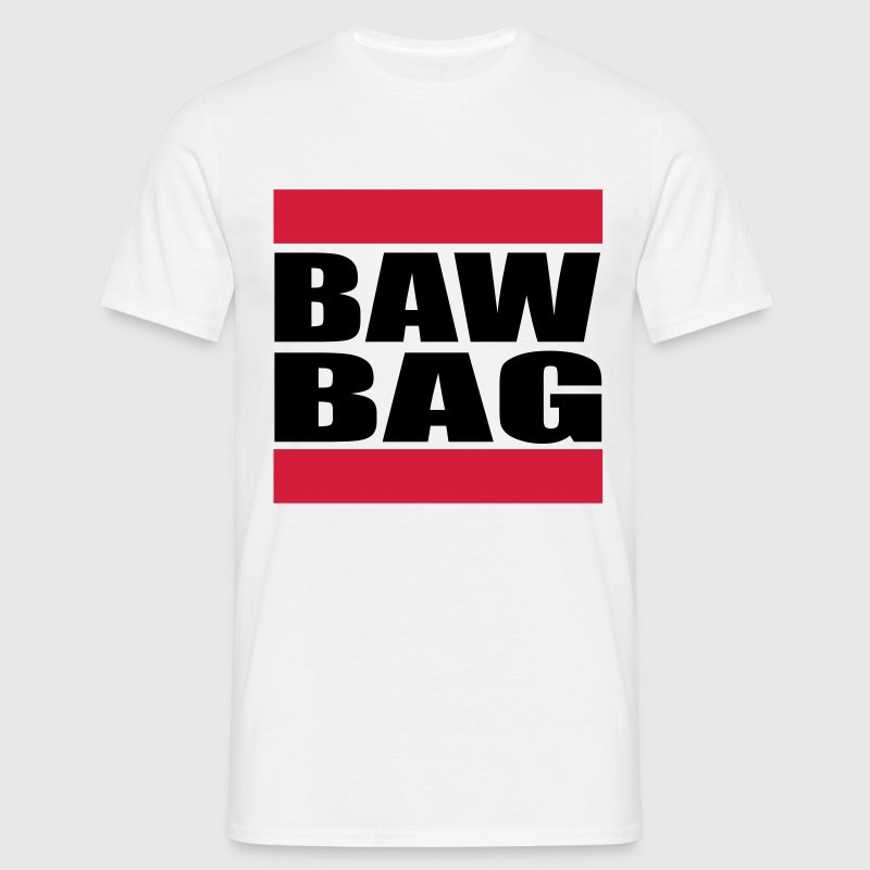 Scottish Insult, Baw Bag = Ball Bag, Scrotum T-shirts - Mannen T-shirt