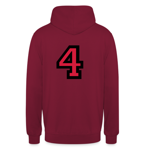 Nummer 4 T-Shirt - Unisex Hoodie