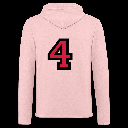 Nummer 4 T-Shirt - Leichtes Kapuzensweatshirt Unisex