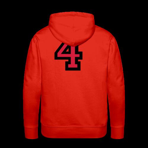 Nummer 4 T-Shirt - Männer Premium Hoodie