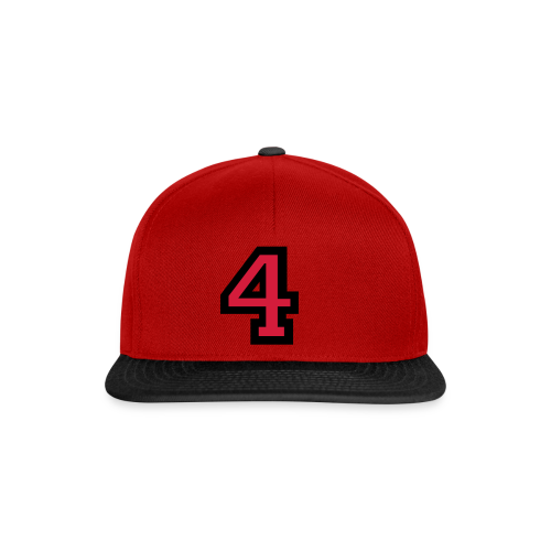 Nummer 4 T-Shirt - Snapback Cap