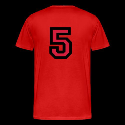 Nummer 5 T-Shirt - Männer Premium T-Shirt