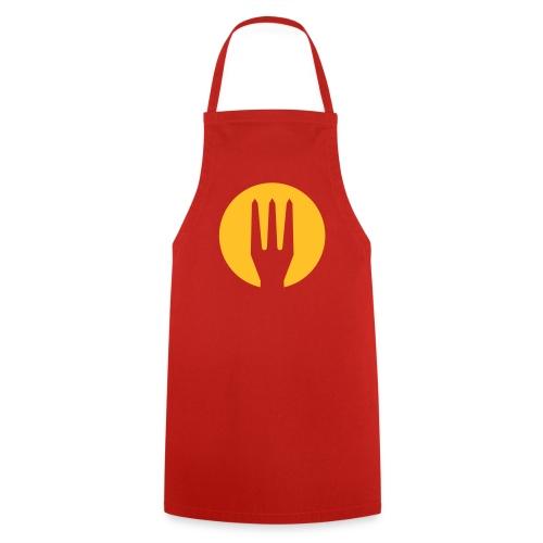 Rode duivels frietvork shirt Belgium - Belgie trident - Tablier de cuisine