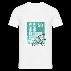 München Briefmarken Babybody - Männer T-Shirt