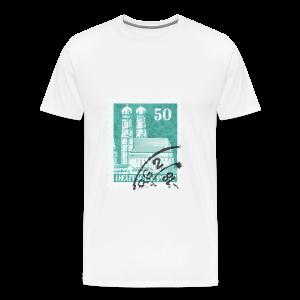 München Briefmarken Babybody - Männer Premium T-Shirt