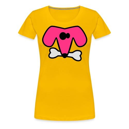 Strange dog - Women's Premium T-Shirt