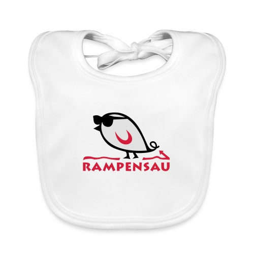 TWEETLERCOOLS - Rampensau - Baby Bio-Lätzchen