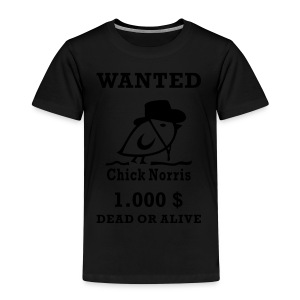 TWEETLERCOOLS - WANTED - Kinder Premium T-Shirt