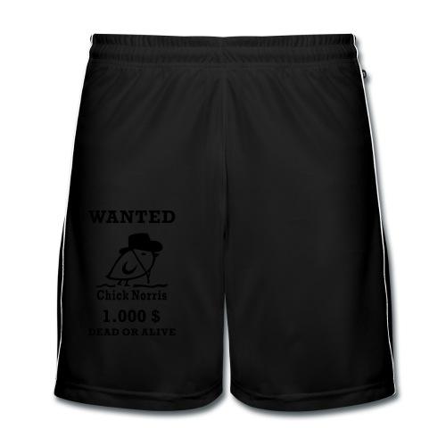 TWEETLERCOOLS - WANTED - Männer Fußball-Shorts